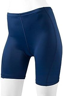 Women's Padded Classic Bike Shorts Navy Large [並行輸入品]