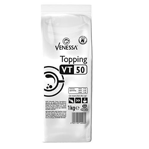 Venessa Topping VT 50, 1 kg, enthält 50% Magermilchpulver, Topping für Kaffeevollautomaten