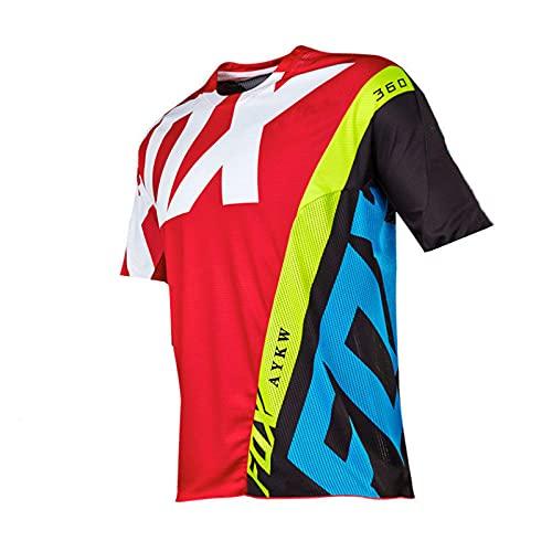 Downhill Jersey Motocross Fox MTB Maglia Enduro Cycling Jersey Men Maillot Ciclismo...