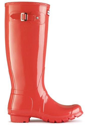 Hunter - Botas para mujer, color Naranja, talla Adults 7