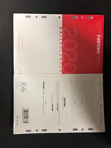 RICAMBIO AGENDA CON ANELLE 2020 FORMATO 14X21,5CM.
