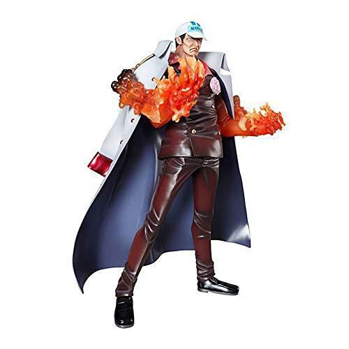 SDUYTEG One Piece Sakazuki Neo-DX Pop Akainu Almirante de la sede de la Marina PVC Material de PVC Figura Anime Modelo Modelo Toys Regalos