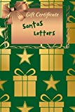 Santas Letters: Noel letters notebook for kids