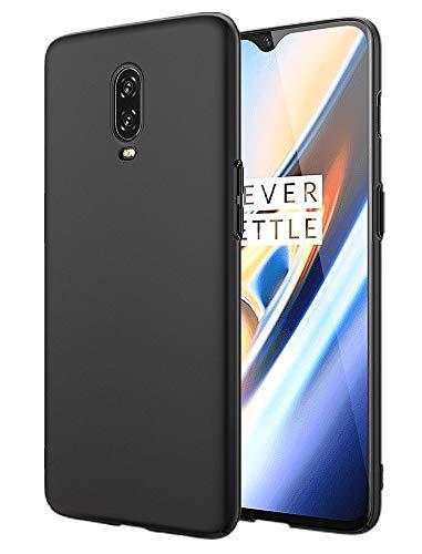 EIISSION Cover per OnePlus 6T Protettiva Opaca Custodia OnePlus 6T Cover per OnePlus 6T - Nero
