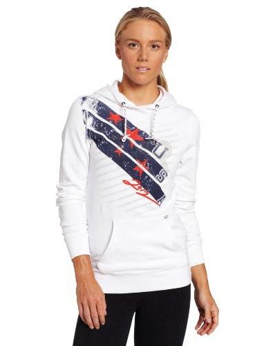 TYR Damen USA 2012 Olympics Hoodie, Damen, weiß, Medium