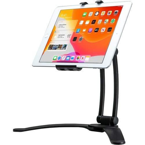 CTA Digital: Suporte de mesa e parede multi-juntas para tablets e smartphones/Apple iPhone 11, Pro/iPad Mini 5, iPad Air 3, iPad 10,2 polegadas (7ª e 8ª geração) e mais, preto