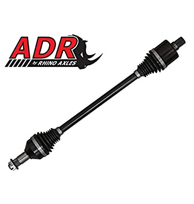 SuperATV Stock Length Rear Axle: ADR Replacement CV Shaft Rear Axles Compatible with Polaris Ranger XP 900 2013-2018 and 900XP Crew 2014-2018 - ATV and UTV Accessories and OEM Replacement Parts