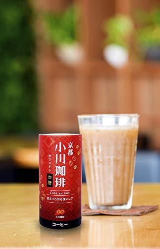 京都小川珈琲カフェオレ加糖195g×15本