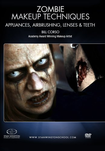 Zombie Makeup - Appliances, Airbrushing, Lenses & Teeth