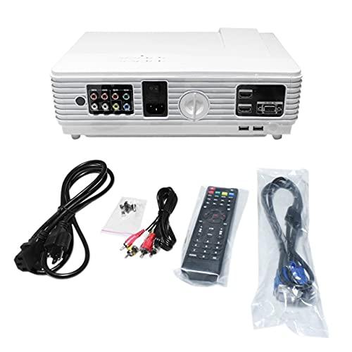 Nrew HTP96 Proiettore LED 1080P Full Home Theater Cinema Supporto HDMI Compatibile U-Disk VGA Videoproiettore Portatile Versione Base