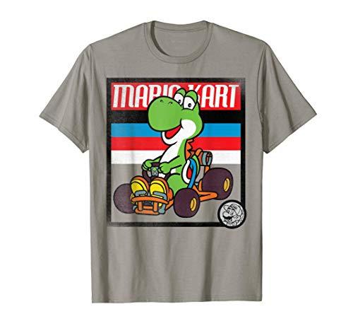 Nintendo Mario Kart Yoshi T-shirt. 5 Colors for Aduls and Youth