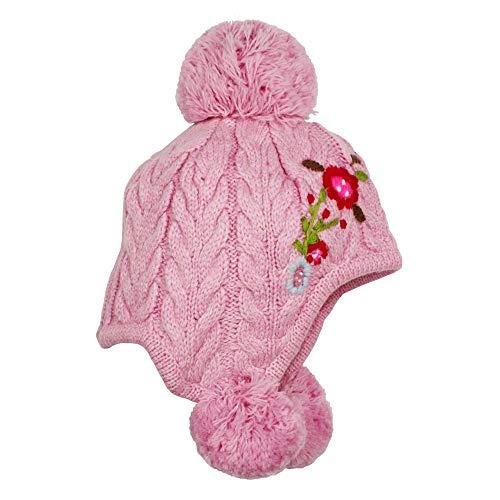 BONDI Trachten Strickmütze, rose 49 Tracht Baby Mädchen Artikel-Nr.86195