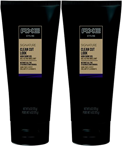 AXE Hair Styling Clean Cut Look, High Shine Gel, 6...