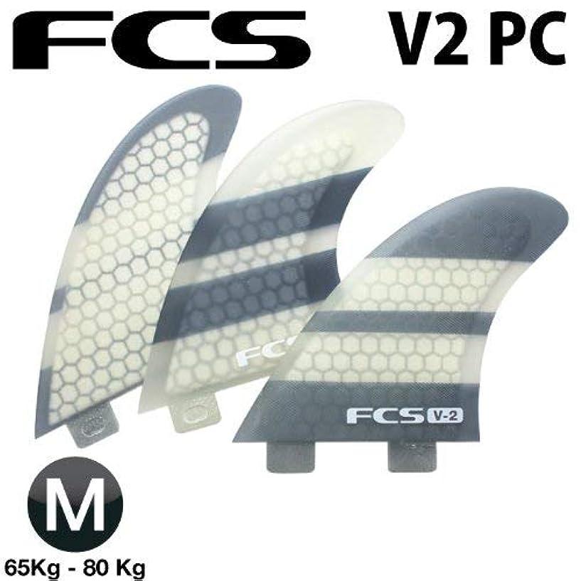 挑む食事火曜日ショートボード用フィン FCS FIN エフシーエスフィン V2 PC (K2.1 PC) パフォーマンスコア 3フィン トライフィン