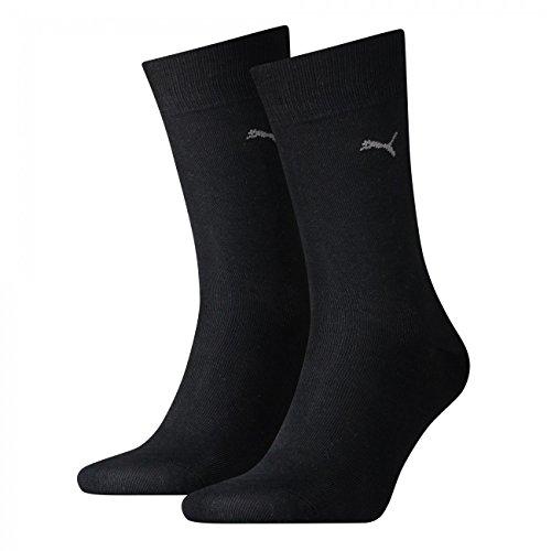 PUMA Herren Casual Socken Classic 4er Pack, Größe:47-49;Farbe:black