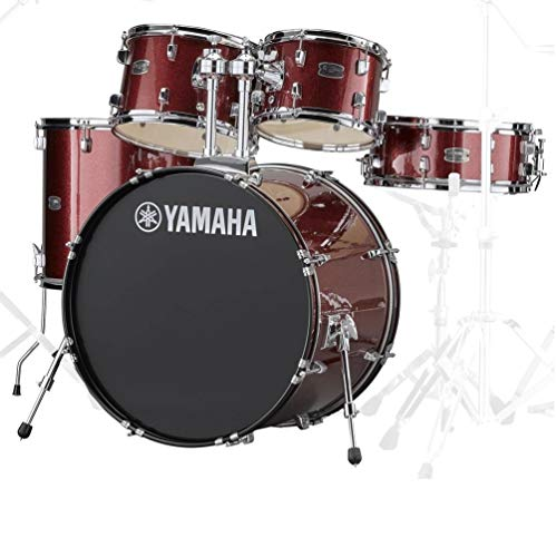 Yamaha RDP2F5BGGCP Rydeen 22 Inch Drum Kit with Hardware - Burgundy Glitter