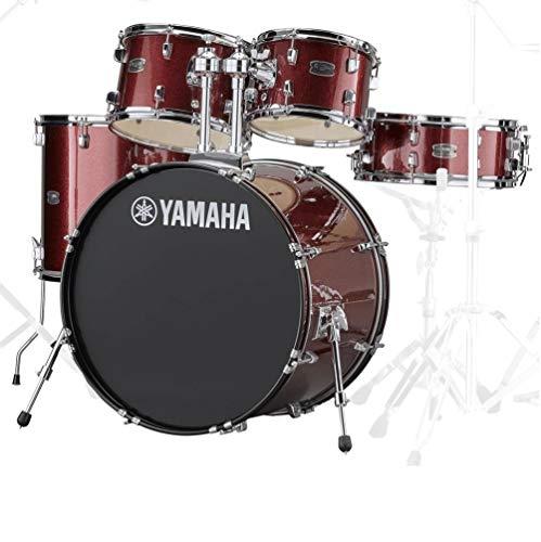 Yamaha RDP2F5BGGCP Rydeen 22 Inch Drum Kit with Hardware - Burgundy Glitter