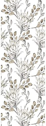 Oedim Vinilo para Frigorífico Ramas Secas 185x60cm | Adhesivo Resistente y Económico | Pegatina Adhesiva Decorativa de Diseño Elegante