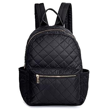 TOYOOSKY Black Backpack School Backpack Lightweight Women Travel Backpack Hold 14   Laptop for Girls