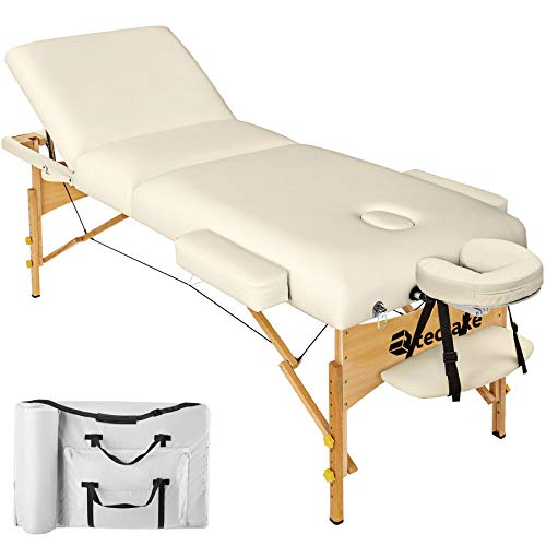 TecTake Table Lit de Massage Pliante Portable - diverses couleurs...