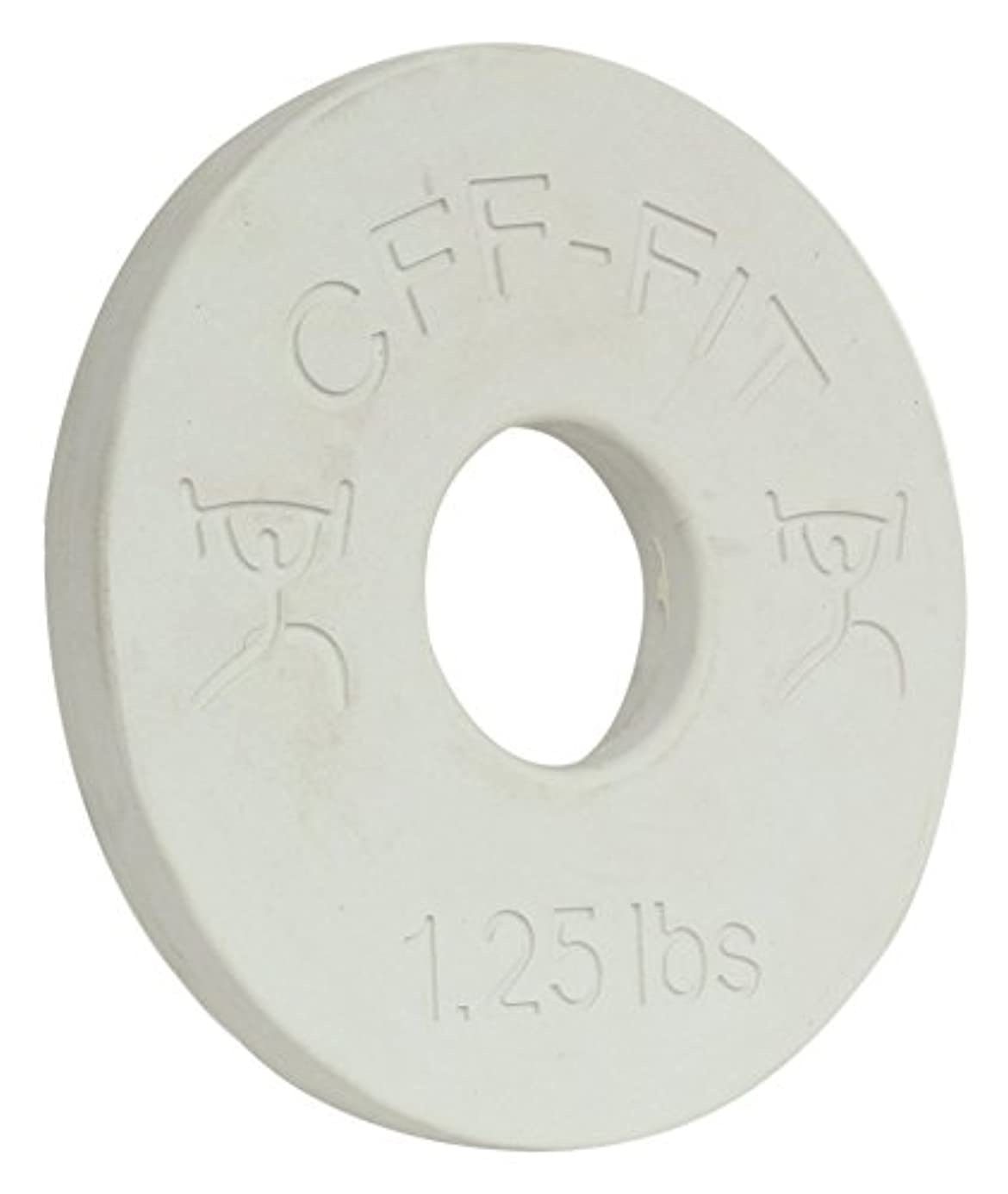 CFF 1.25 lb Competition Rubber Fractional Weight Plates - Pair