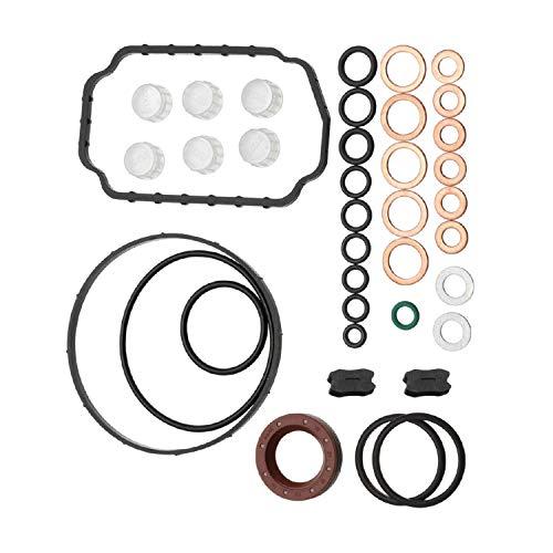 Disenparts Injection Pump Repair Kit 1467010059 14670-10059 1-467-010-059 Seal rebuild Kit Fits for Bosch, Dodge Cummins 5.9 2500 3500 12V