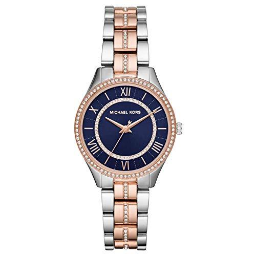Michael Kors Damen Analog Quarz Uhr mit Edelstahl Armband MK3929