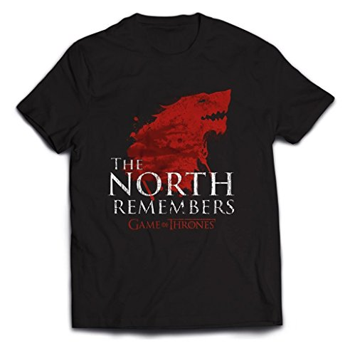 Game of Thrones The North Remembers Oficial Camiseta para Hombre