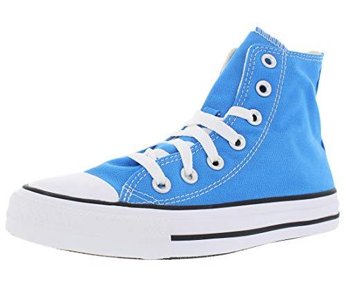 Converse Chuck Taylor All Star Hi Unisex Zapatos, azul (costa azul), 43 EU