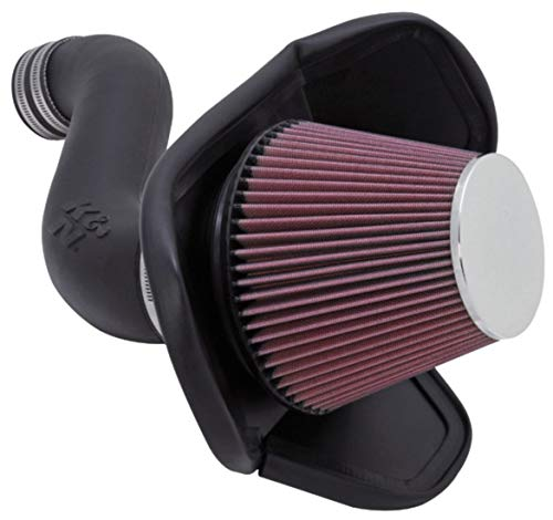 K&N Cold Air Intake Kit: High Performance, Guaranteed to Increase Horsepower: 50-State Legal: 2005-2010 Dodge/Chrysler (Charger, Challenger, Magnum, 300) 3.5L V6,57-1543