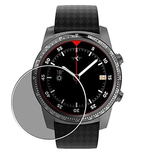 Vaxson Anti Spy Schutzfolie, kompatibel mit AllCall W1 Smartwatch smart watch, Displayschutzfolie Privatsphäre Schützen [nicht Panzerglas]