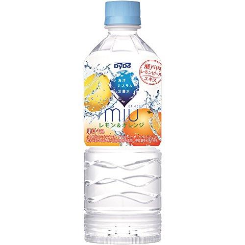 ダイドードリンコ ミウ レモン&オレンジ 550×24