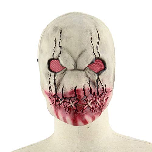 GQF Halloween Maske Halloween Horror Gummimaske Faules Gesicht Zombiemaske Blutgesicht Zombie Screaming Death Devil Mask