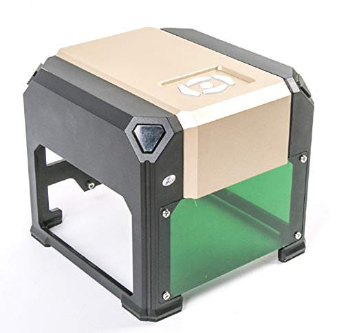 Pequeña máquina de grabado láser manual (3000 MW), grabadora láser portátil, para grabado, como madera, joyas, plástico, etc.