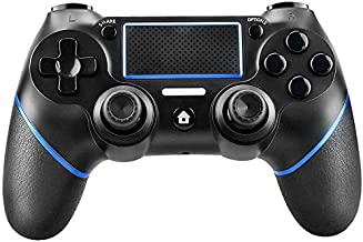 $50 » PS4 Controller, Wireless Bluetooth Game Controller with Vibration and Headphone Jack,Touch Panel Joypad with USB Cable,for...