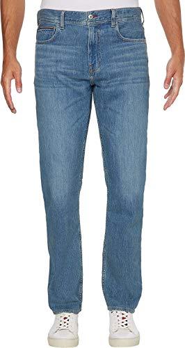 Tommy Hilfiger Herren Regular Mercer STR Vermont IND Jeans, Indigoblau, W34 / L36