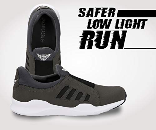 Product Image 2: urbangabru Men's Grey Casual Shoes, Sneakers Without Laces
