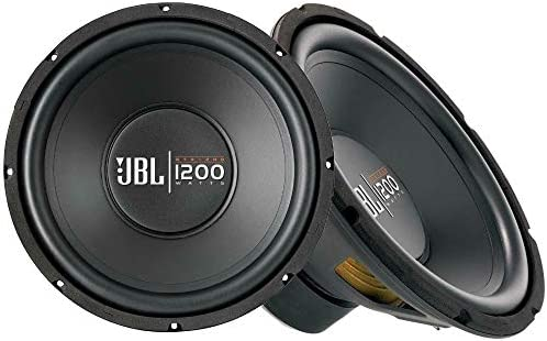 Two Pieces of GT X1200 12 J B L Subwoofer 1200W 4 Ohm Bass Speaker Car Audio product image