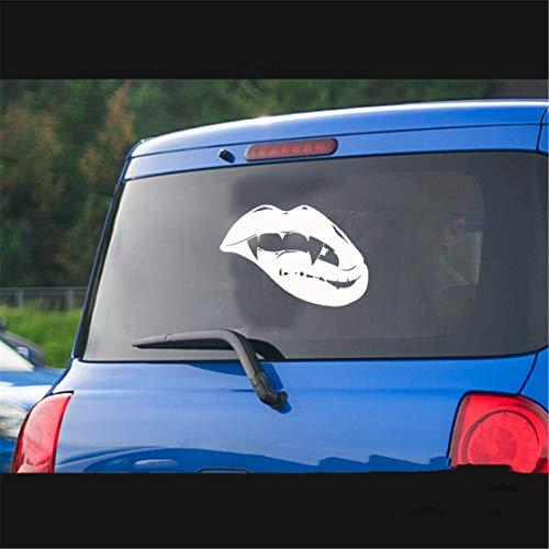Dozili - Adhesivo de vinilo para ventana de coche, portátil, 6 pulgadas