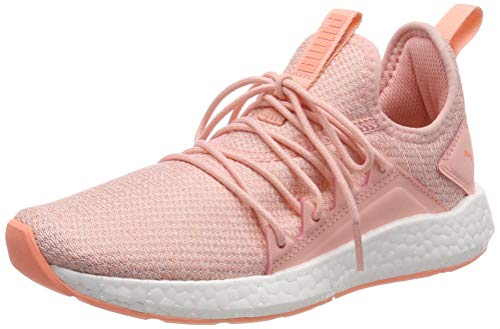 Puma NRGY Neko Knit Jr, Unisex-Kinder Sneakers, Pink (Peach Bud-Puma White-Bright Peach), 35.5 EU