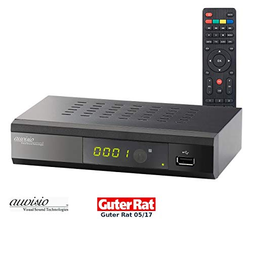 auvisio DVB C Receiver: Digitaler DVB-C-Kabelreceiver DCR-100.fhd, Full HD (dvbc2 Receiver)