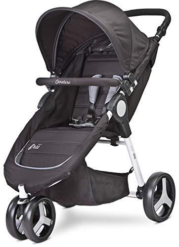 TERO-580 Frii - Cochecito de bebé, color negro