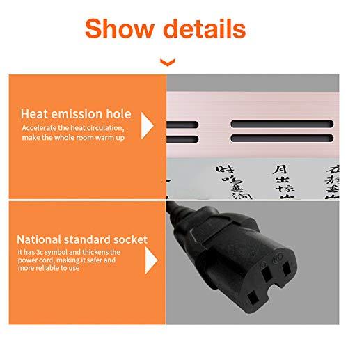 HL Infrarot-Konvektionsheizung Fresko Heimtextilien Gebläse eignet Sich  die Bild 6*