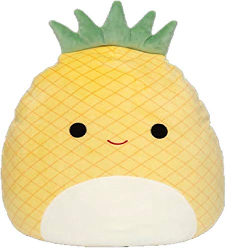 """Squishmallow Kellytoy 2020 Fruits Collection Plush Toy (16"""" Maui The Pineapple)"""