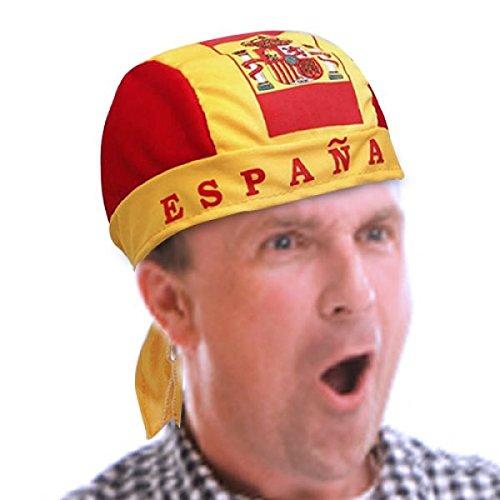 CEXPRESS - Gorro Pañuelo Bandera de España: Amazon.es: Hogar