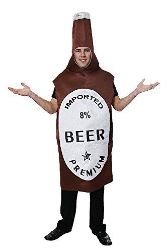 Costume di carnelvale a forma di BOTTIGLIA DI BIRRA - Vestito da Adulto