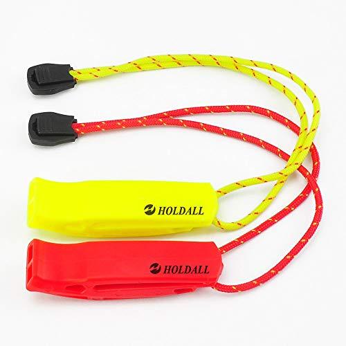 ホイッスル (2枚セット) HOLDALL 防災 セーフティ サバイバル エマージェンシー 危険防止 緊急用笛