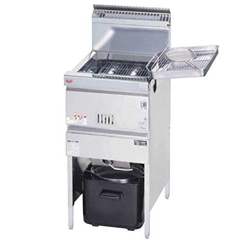 MGF-C18J マルゼン ガスフライヤー 涼厨フライヤー 業務用 430*610*800 LPガス