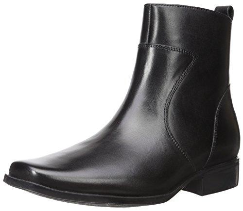 Rockport Men's Toloni Ankle Bootie, Black, 11.5 W US