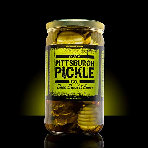 Pittsburgh Pickle Company Bread & Butter Pickle Chip Jar - Pack of 1